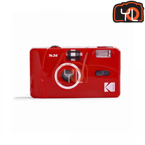 Kodak M38 Film Camera - RED