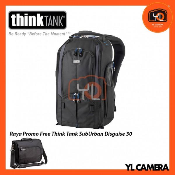 Think Tank Photo StreetWalker V2.0 Backpack  ( Free Think Tank Photo Sub Urban Disguise 30 Shoulder Bag )