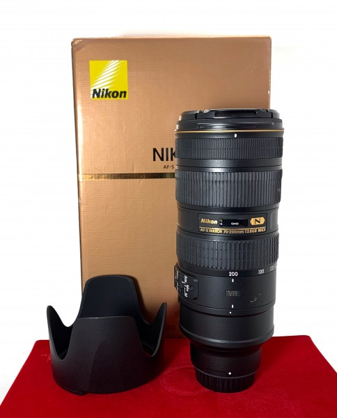 [USED-PJ33] Nikon 70-200MM F2.8 G VR II AFS, 90% Like New Condition (S/N:20127102)