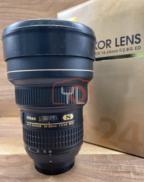 [USED @ YL LOW YAT]-Nikon AF-S 14-24mm F2.8G ED N Lens,80% Condition Like New,S/N:275467