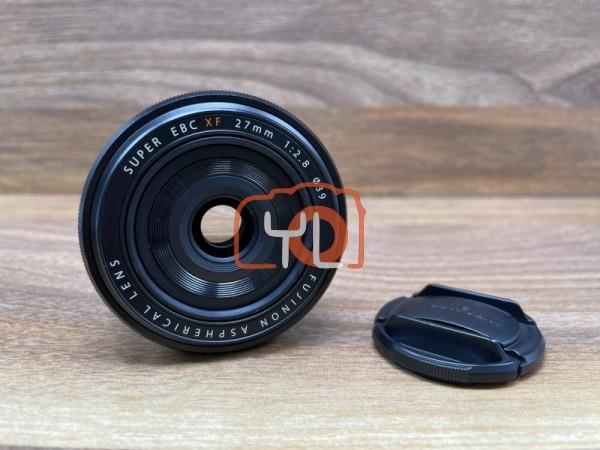 [USED @ YL LOW YAT]-FUJIFILM XF 27mm F2.8 R Lens (BLACK),90% Condition Like New,S/N:44A11657
