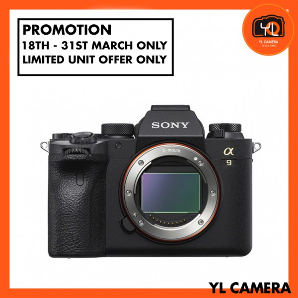 (Promotion) Sony a9 Mark II Body Only