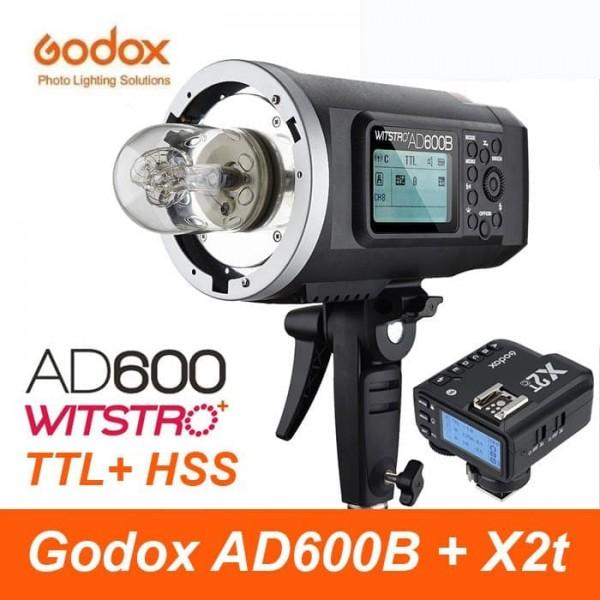 Godox AD600B TTL All-In-One Outdoor Flash X2T-F Fro Fujifilm Combo Set