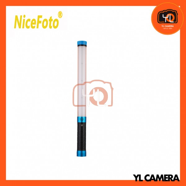 NiceFoto HL-288 LED Video Light Bi-Color 20W Light Wand 5500K/3200K Dimmable ICE Ligh