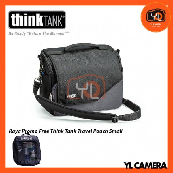 Think Tank Photo Mirrorless Mover 30i Camera Bag (Black/Charcoal) Free Think Tank Photo Travel Pouch - Small
