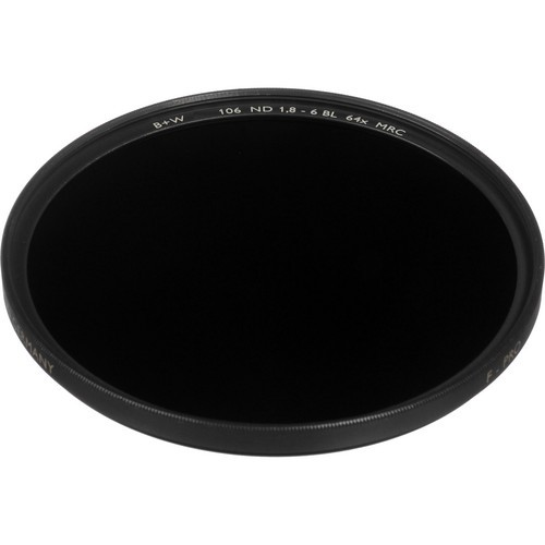 B+W 43mm MRC 106M ND 1.8 Filter (6-Stop)