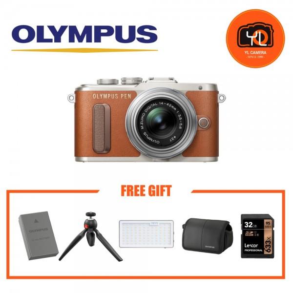(Promotion) Olympus E-PL8 + M.Zuiko 14-42mm EZ (Brown)