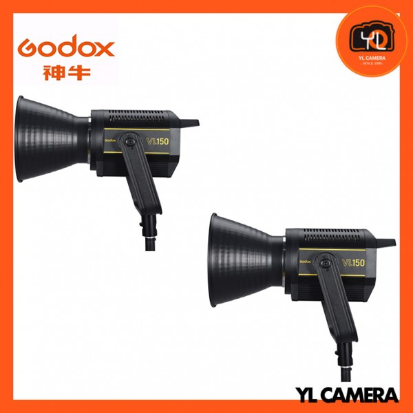 Godox VL150 LED Video Light 2 Light Kit