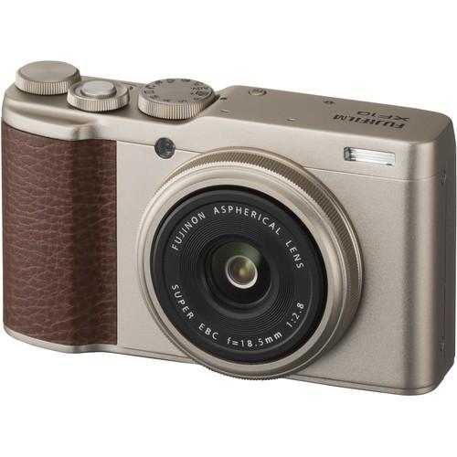 Fujifilm XF 10 Digital Camera (Gold) [Free 32GB SD Card]