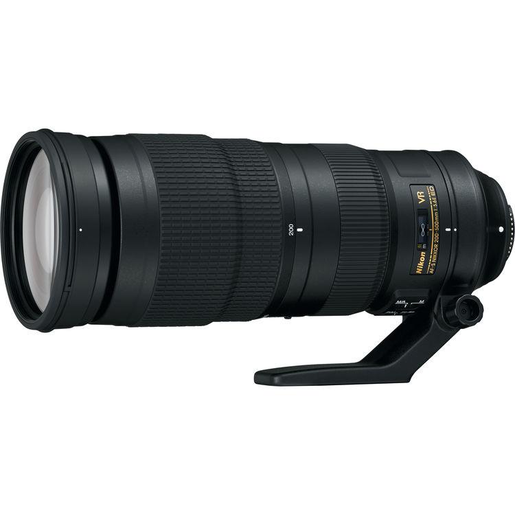 Nikon 200-500mm F5.6E ED AF-S VR