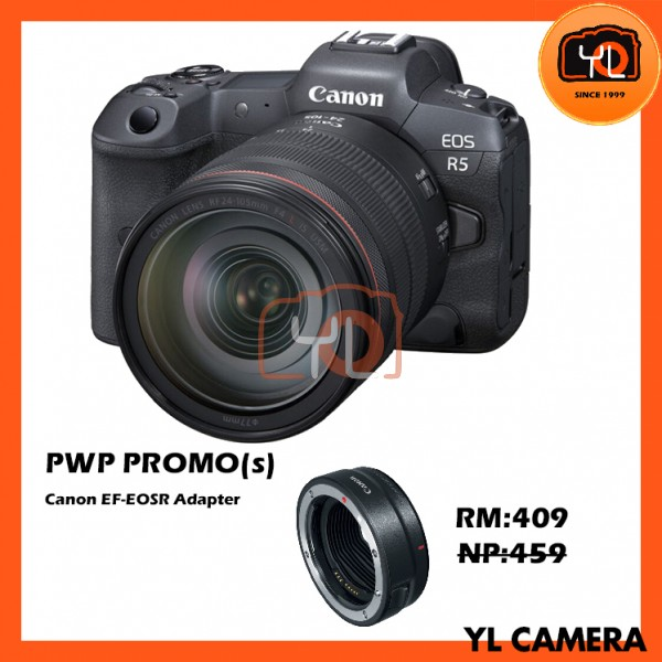 Canon EOS R5 + RF 24-105mm F4 L IS USM