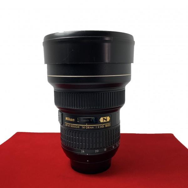 [USED-PJ33] Nikon 14-24mm F2.8G AFS ED Nano Lens, 90% Like New Condition (S/N:214328)