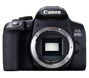Canon EOS 850D DSLR (FREE 32GB SD Card & Camera Bag)