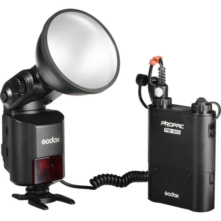 (SPECIAL DEAL) Godox AD360II-C WITSTRO TTL Portable Flash with Power Pack Kit for Canon Cameras