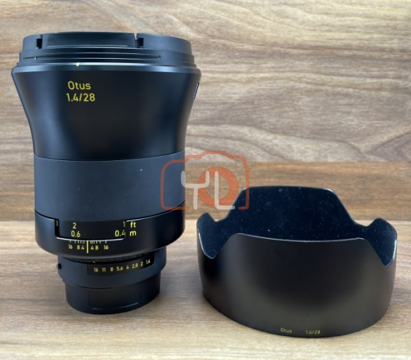[USED @ YL LOW YAT]-ZEISS Otus 28mm F1.4 ZF.2 Lens for Nikon F,90% Condition Like New,S/N:51598338