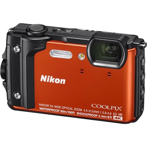 Nikon COOLPIX W300 Waterproof Camera - Orange