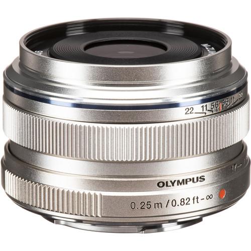 Olympus 17mm F1.8 M.Zuiko (Silver)