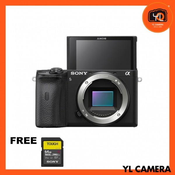 Sony a6600 (Black) [Free Sony 64GB  Tough UHS II SD Card]