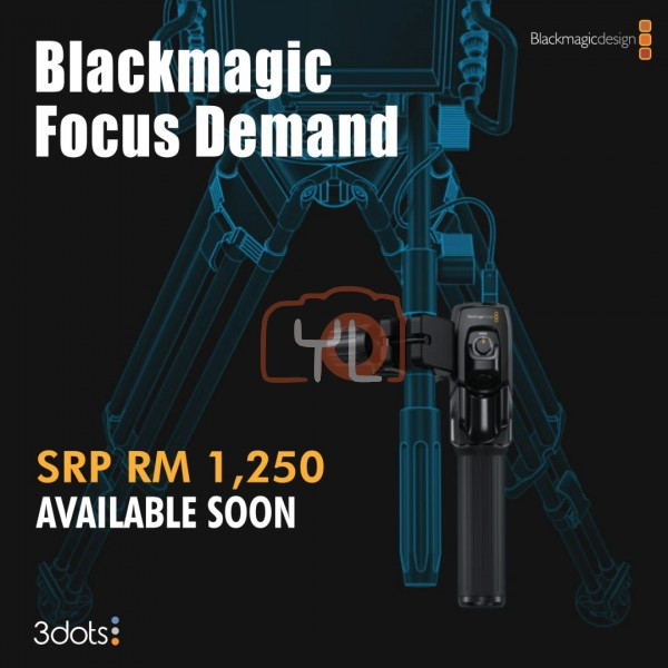 Blackmagic Design BLACKMAGIC ZOOM DEMAND