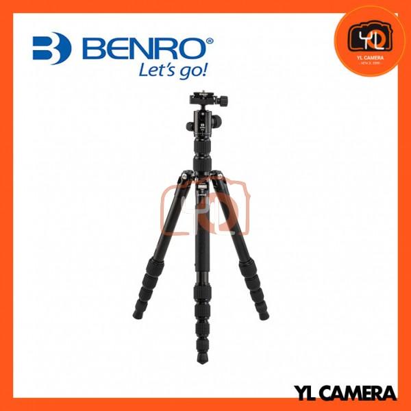 Benro FTR09AB00-BLK Tripster Travel Tripod (0 Series, Black, Aluminum)