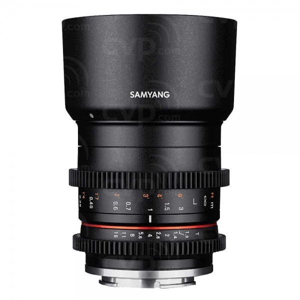Samyang 35mm T1.3 Compact High-Speed Cine Lens for Fujifilm X