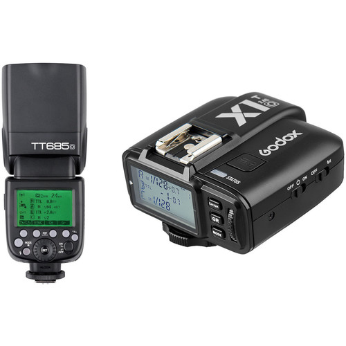 Godox TT685O Thinklite TTL Flash with X1T-O Trigger Kit for Olympus/Panasonic Cameras