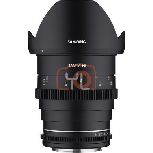 Samyang 24mm T1.5 MK2 Cine Lens (Canon EF-M)