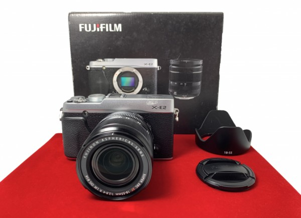 [USED-PJ33]  Fujifilm X-E2 With 18-55MM F2.8-4 R LM OIS, 95% Like New Condition (S/N:34M04444)