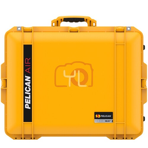 Pelican 1637 Air Wheeled Hard Case with Foam (Yellow)