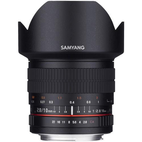 Samyang 10mm F2.8 ED AS NCS CS Lens for Fujifilm X Mount