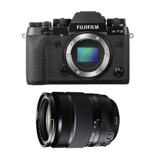 Fujifilm X-T2 + XF 18-135mm f/3.5-5.6R LM OIS WR [Free 32GB SD Card UHS-II]