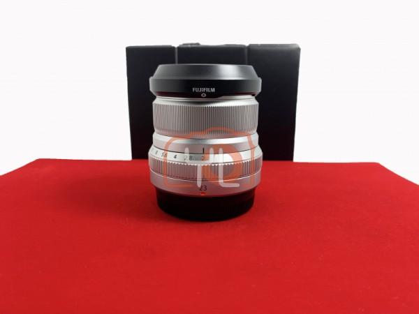 [USED-PJ33] Fujifilm 23mm F2 XF R WR (Silver), 95% Like New Condition (S/N:78A51304)