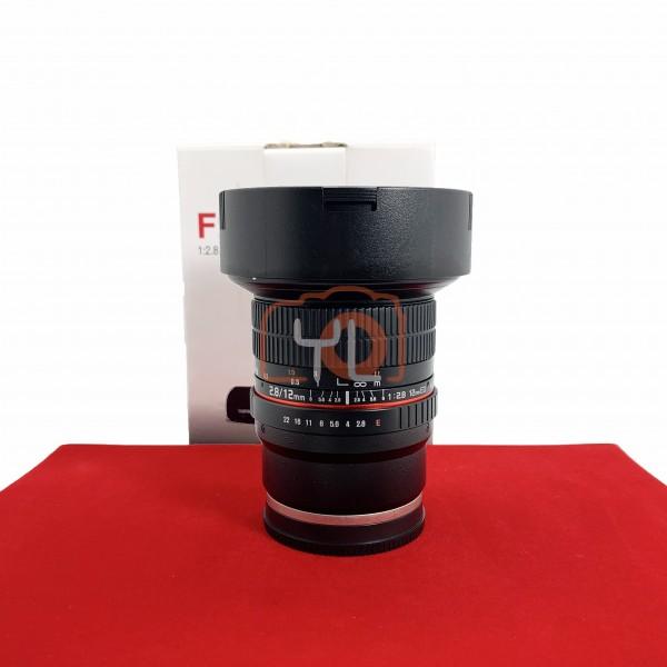[USED-PJ33] Samyang 12mm F2.8 Fisheye ED AS NCS (Sony FE), 90% Like New Condition (S/N:044245)