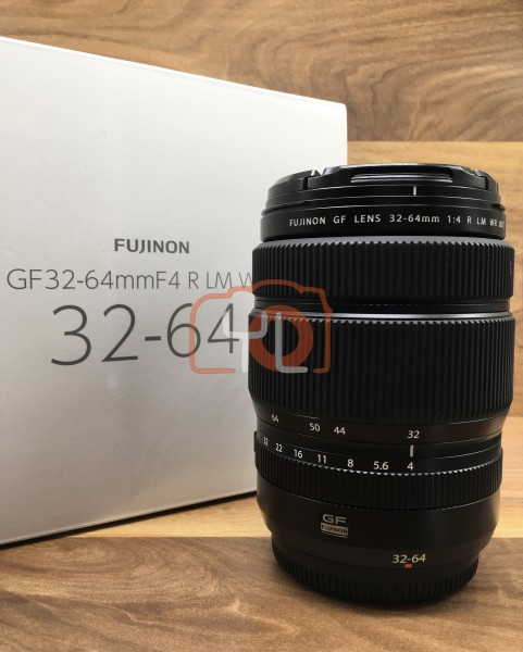 [USED @ YL LOW YAT]-Fujifilm GF 32-64mm F4 R LM WR Lens,90% Condition Like New,S/N:75Z00561