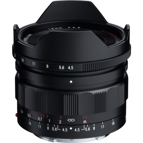 Voigtlander 15mm F4.5 Super Wide-Heliar Aspherical III Lens (For Sony E-Mount)