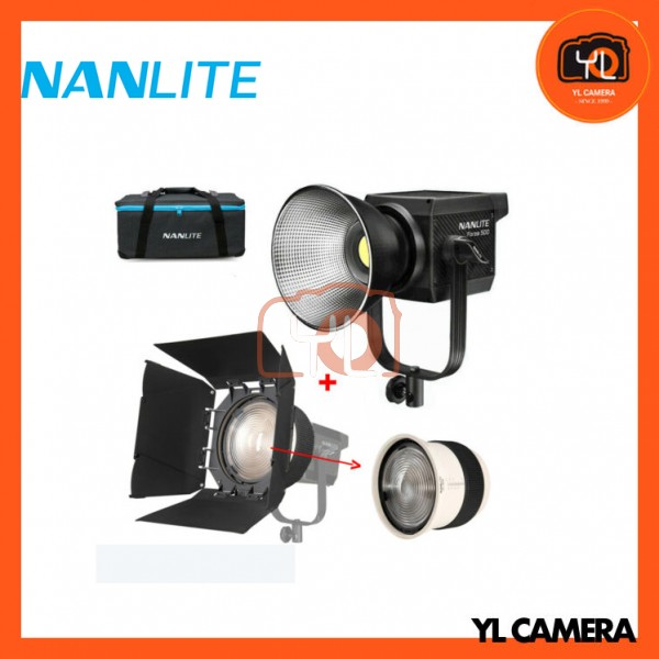Nanlite Forza 500 LED Monolight With FL206 Fresnel Lens