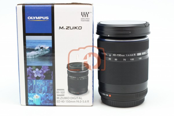 [USED-PUDU] Olympus 40-150MM F4-5.6 R ED 98%LIKE NEW CONDITION SN:ABJG14397