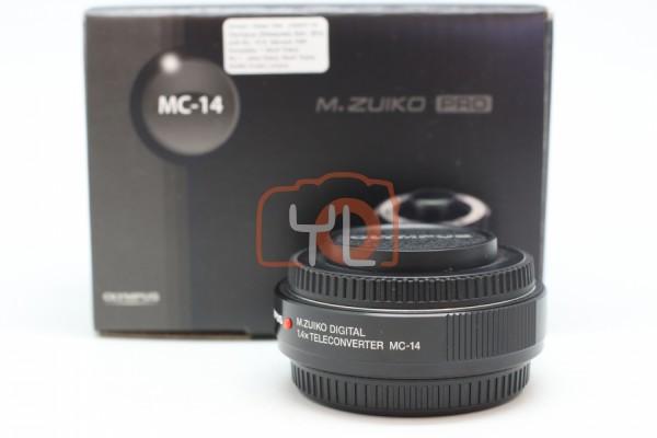 [USED-PUDU]-Olympus M.Zuiko Digital 1.4x Teleconverter MC-14 95%LIKE NEW CONDITION SN:AC6218555