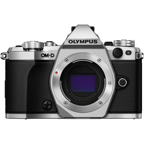 Olympus OM-D E-M5 Mark II - Silver (Free Lexar 64GB SD Card 150MB)