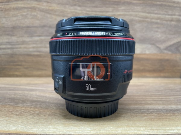 [USED @ YL LOW YAT]-Canon EF 50mm F1.2 L USM Lens,90% Condition Like New,S/N:6572183