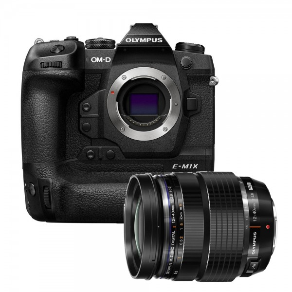(RAYA PROMO) Olympus OM-D E-M1X + 12-40mm F2.8 PRO M.Zuiko [Free SanDisk 64GB 300MB/s SD Card]