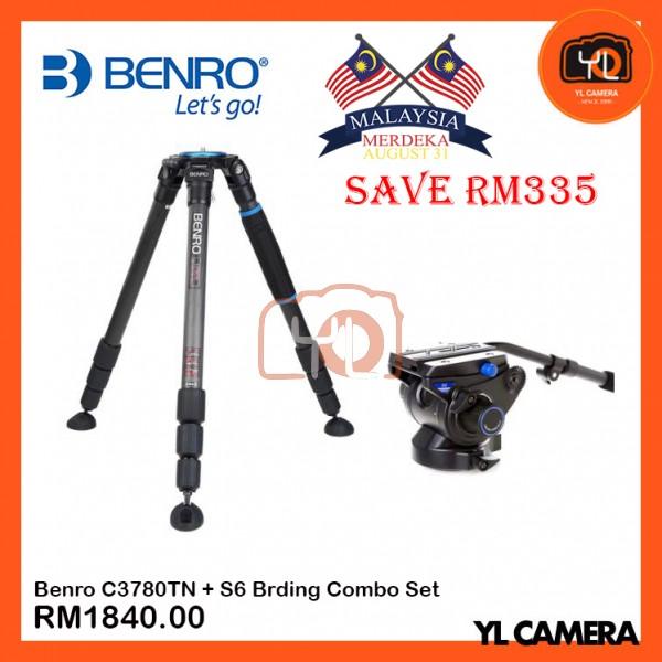 (Merdeka Promotion) Benro C3780TN + S6 Brding Combo Set (SAVE RM335)