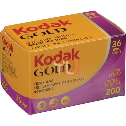 Kodak GOLD 200 Color Negative Film (35mm Roll Film) - 2 Roll