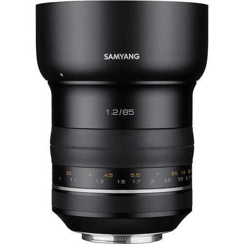 Samyang XP 85mm F1.2 Lens for Canon