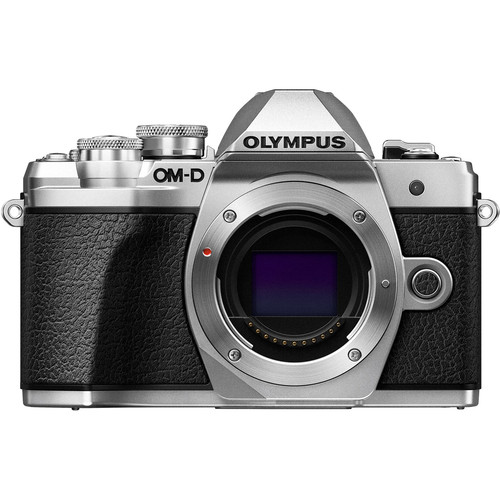 Olympus OM-D E-M10 Mark III (Silver) [Free Lexar 32GB 95MB SD Card + Benro ELZ10 Camera Bag]