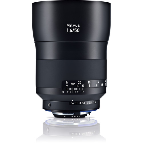 (Promotion) ZEISS Milvus 50mm F1.4 ZF.2 Lens for Nikon F