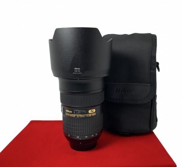 [USED-PJ33] Nikon 24-70MM F2.8 G AFS ED,95% Like New Condition (S/N:268310)