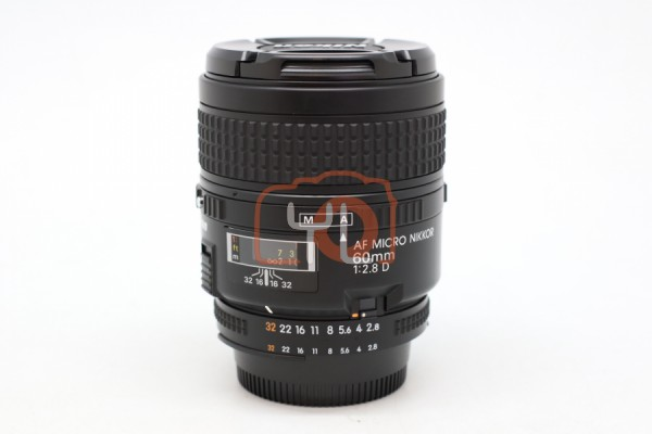 [USED-PUDU] NIKON 60MM F2.8 AFD MICRO LENS 95%LIKE NEW CONDITION SN:4001965
