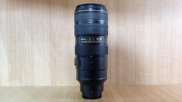 (USED YL LOWYAT)-NIKON 70-200MM F2.8 AFS ED VR II LENS,88% Condition Like New,S/N:20051011,