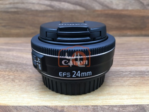 [USED @ YL LOW YAT]-Canon EF-S 24mm F/2.8 STM Lens,95% Condition Like New,S/N:7211107383